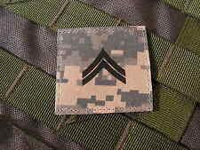 Galons US - CORPORAL - grade scratch ACU DIGITAL rank insignia SNAKE PATCH