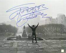 "Sylvester Stallone ""Rocky"" Autographed 16x20 Museum Steps Photo Asi Proof"