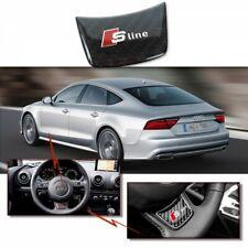 AUDI S Line Badge Mini Emblème pour Volant Autocollant Logo A1 A7 A8 Q3 Q5 Q7 RS