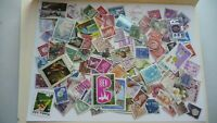 1998           lot 100 timbres seconds plusieurs pays