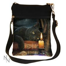 SHOULDER BAG OWL THE WITCHING HOUR CAT LISA PARKER SMALL NEMESIS NOW LADIES NEW