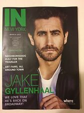 Jake Gyllenhaal gorgeous cover IN NEW YORK magazine mint condition