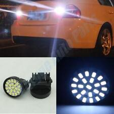 2PCS T25 3157 Bright White 22SMD LED side turn signal  side marker lights 12V X5