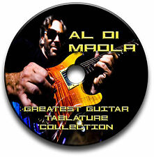 AL DI MEOLA JAZZ LATIN FUSION GUITAR TABS TABLATURE SONG BOOK SOFTWARE CD