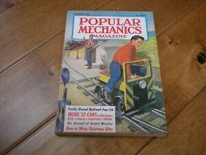 Popular Mechanics (December 1956) Family-Owned Railroad More '57 Cars
