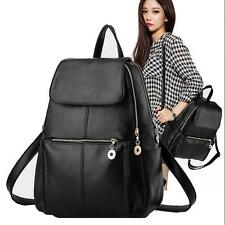 Fashion Women Girls Ladies Backpack Shoulder Bag Rucksack PU Leather Travel