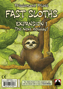 SHG71700 Stronghold Games Fast Sloths: The Next Holiday