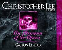Christopher Lee reads The Phantom of the Opera by Gaston Leroux (Audio Book)