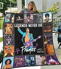 Prince New Quilt Blanket Gift For Fans For Music
