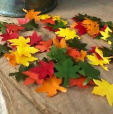 Dollhouse Miniature Fall Maple Leaves! Large Lot!