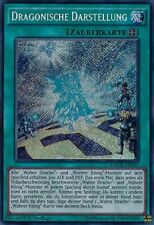 Dragonische Darstellung MACR-DE053 Secret Rare DE NM