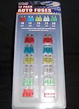 12 New Automotive 12 Volt Car Fuse Electrical Spare Amp RV Boat Replacement ATO