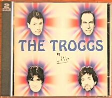 THE TROGGS Live UK 2-CD Rollercoaster RCCD 6008 NMINT 2002