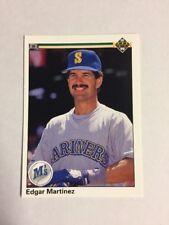 1990 Upper Deck Error Edgar Martinez - NO HOLOGRAM