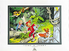 Affiche, Spirou et Fantasio : Jungle  60 x 80 cm