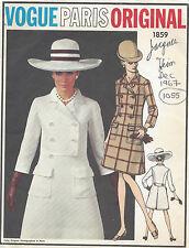 1967 Vintage vogue-schnittmuster B34 Kleid (1055) von Jacques Heim