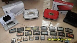 Nintendo DS Lite Sliver and Red Jumbo Pack