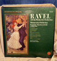 Ravel All The Works For Orchestra QSVBX 5133 4 Records Minnesota Orchestra  M-