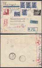 Croatia 1941 - Registered Express cover to Germany -IIWW... (6G-24149) MV-1161