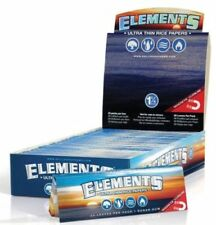 25x Packs Element 1.25 ( 0 Leaves Papers Each Pack) Rolling Paper 1 1/4 FULL BOX