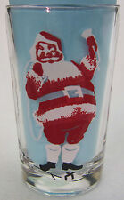 Santa juice size Peanut Butter Glass Glasses Drinking Kitchen Mauzy 119-7