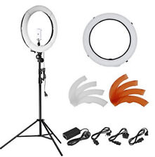 "18""55W 240 Pieces LED SMD Ring Light 5500K Dimmable Ring Light kit W Light Stand"