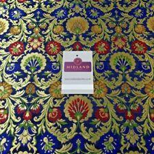Telas y tejidos florales de brocado