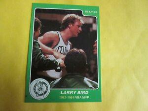 1984-85 Star Basketball #12 Larry Bird