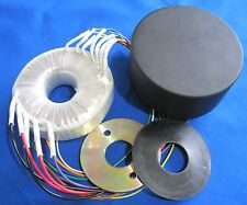 Guitar Tube Amp Transformer & Cover - 50VA 240V-220V-0V & 6.3V x2 p/n AS-05T240C