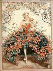 1925 La Vie Parisienne French La Roseraie France Travel Advertisement Print
