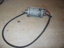 03 Aprilia Atlantic 500 starter motor and wire for parts or repair