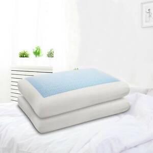 Cooling Gel Memory Foam Pillow Head Spine Support Air Cool Contour Gel pillow