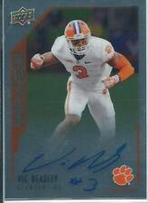 Upper Deck Autographed Gridiron Football Trading Cards