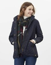 Joules Womens Newdale Quilted Coat - Marine Navy