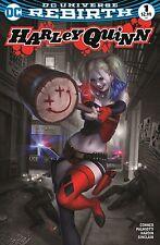 Harley Quinn #1 Rebirth EXCLUSIVE Variant Warren Louw MEGA GAMING AND COMICS
