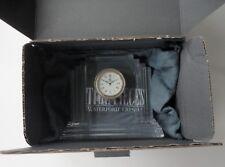 Mint Box Waterford Crystal Metropolitan Shelf Art Deco Clock 108372 Bag Ireland