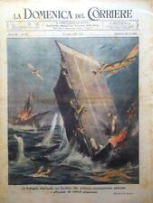 La Domenica del Corriere 9 Luglio 1944 WW2 Fronti Europa Ariadne Colonie Balilla