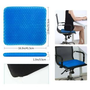 Tolles Gel-Sitzkissen, weiches Sitzkissen, Anti-Rutsch, Stuhlauflage, RO-1092