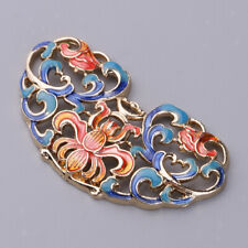 Alloy Enamel Filigree Charms Pendant for DIY Necklace Earring Jewelry Making