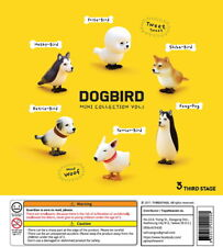 Third Stage Capsule Animal Dogbird Mini Collection Vol1 Completed Set 6pcs