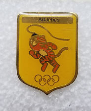 Athletics Olympic Games Commemorative Lucite Pin