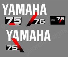 YAMAHA 1991-1999 - 75 moteur hors bord autocollant décalque kit moteur