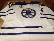 Chicago Blackhawks Rockford Icehogs Garret Ross Game Used Signed Jersey