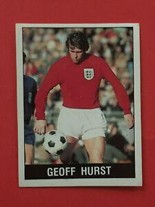 PANINI FOOTBALL 90 Sticker Geoff Hurst [England] #311