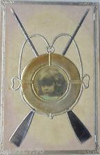 """"""" Jouet, Enfants, Pagaie, Bouée """" ca.1903, Silberprägedruck (4937)"""