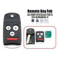 For 08-14 Honda Accord Coupe Acura TL ZDX Keyless Entry Remote Key ...