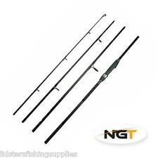 NGT Dynamic 9 FT 4 Piece Travel Fishing Rod Carbon Carp 20-50g Sea Spinning