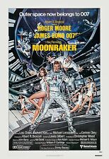 James Bond: * Moonraker * Roger Moore USA  Movie Poster 1979