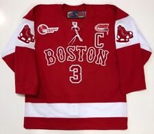 KEVIN SHATTENKIRK 2010 FROZEN FENWAY PARK BU JERSEY BOSTON UNIVERSITY 48 LARGE