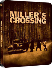 MILLER'S CROSSING (Gabriel Byrne, Marcia Gay Harden) Blu-ray Disc, Steelbook UK